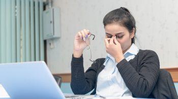 سندروم بینایی کامپیوتر ناشی از کار با کامپیوتر