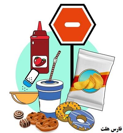 نمک و قند در رژیم غذایی سالم