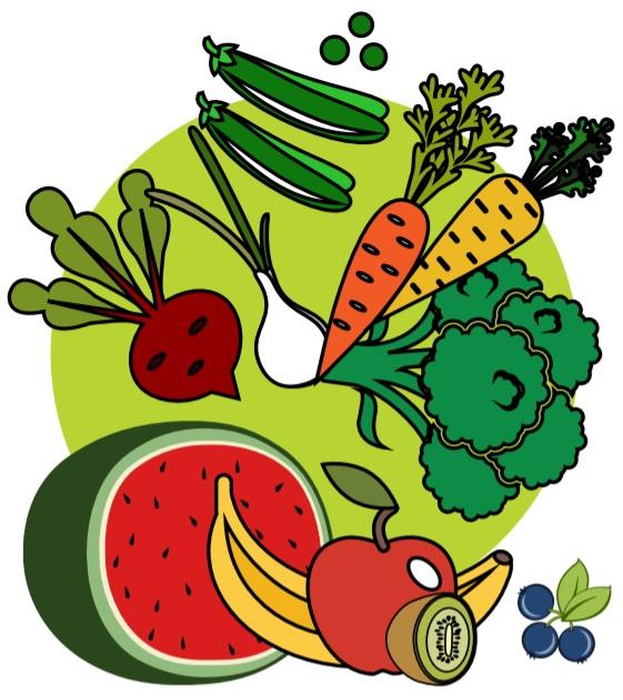 میوه و سبزیجات در رژیم غذایی سالم