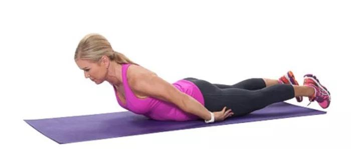 درمان کمر درد با حرکت گسترش میانی پشت